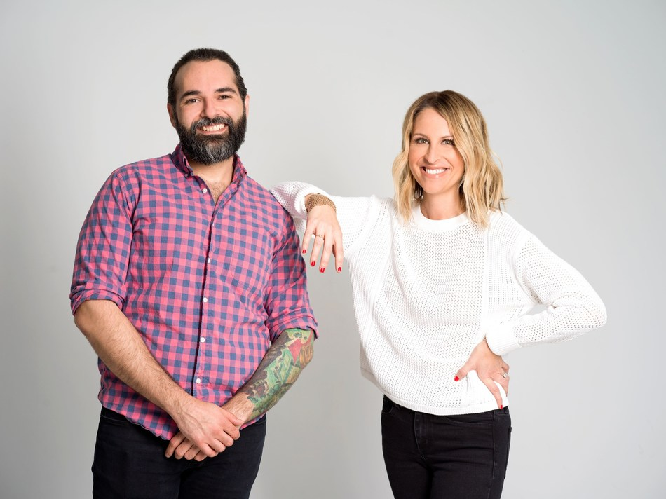 Vino Barreiros, SVP, Product Engineering and Stephany Kirkpatrick, Founder & CEO of Orum. Photo credit: Jillian McAlley Photography