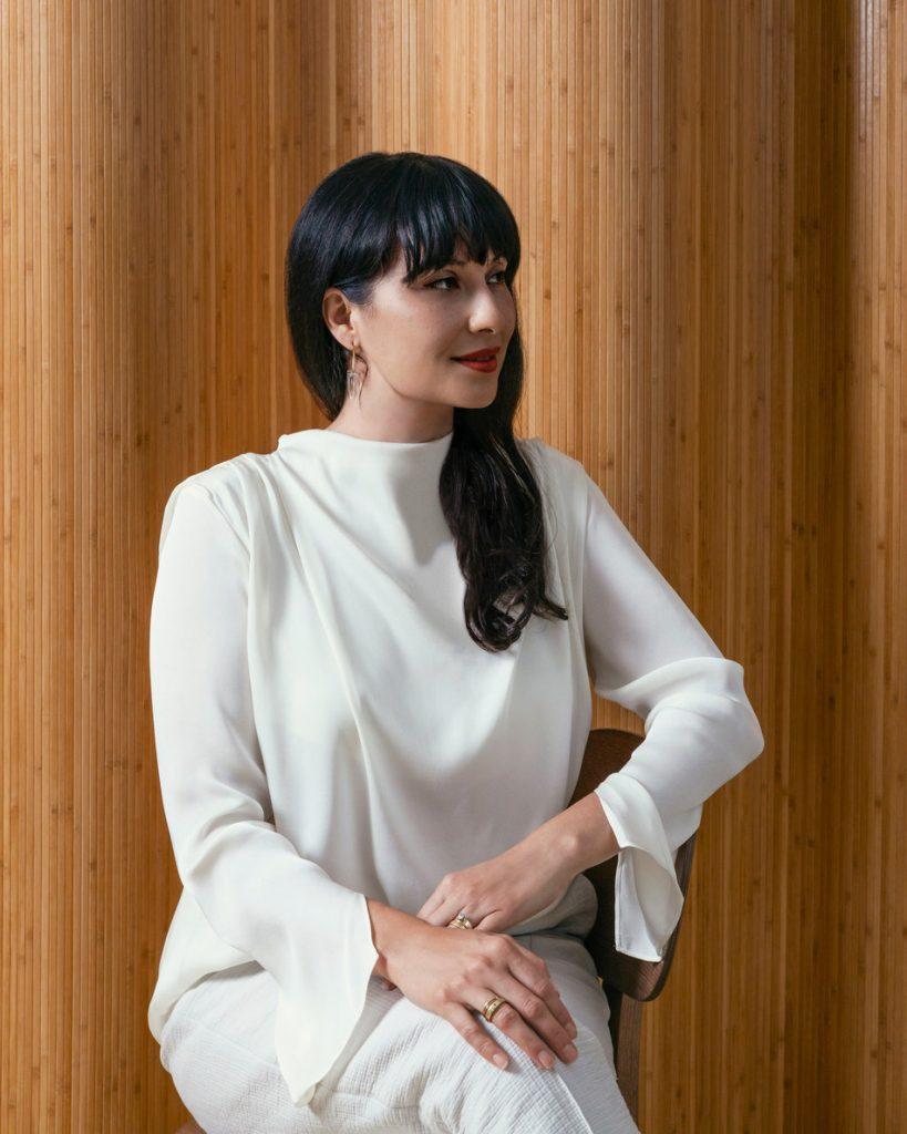 maude Founder and CEO Éva Goicochea