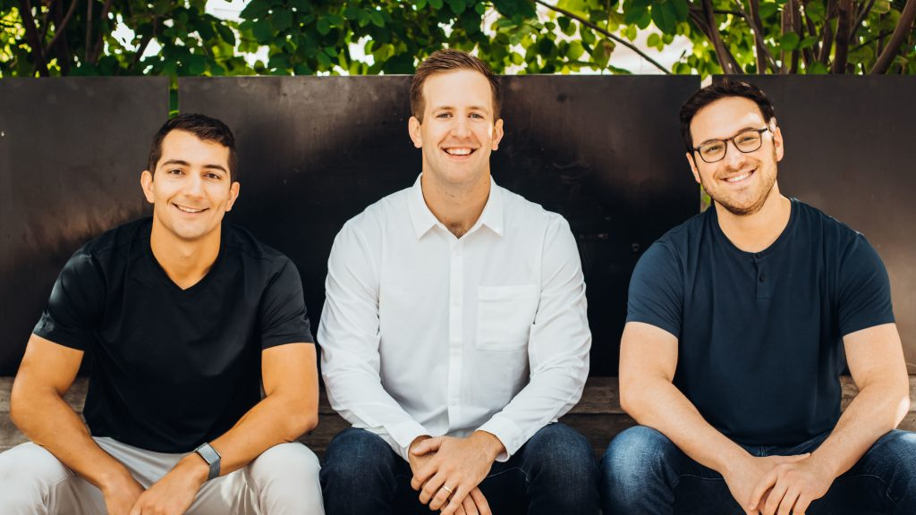Tango Co-founders Dan Giovacchini, Ken Babcock, and Brian Shultz