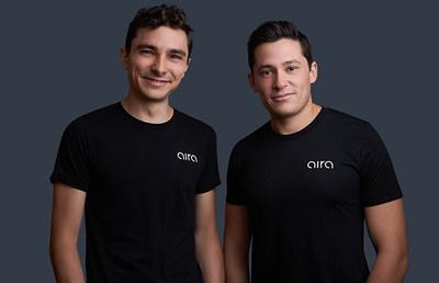 Aira, Inc. Co-founders Eric Goodchild (left) and Jake Slatnick (right)