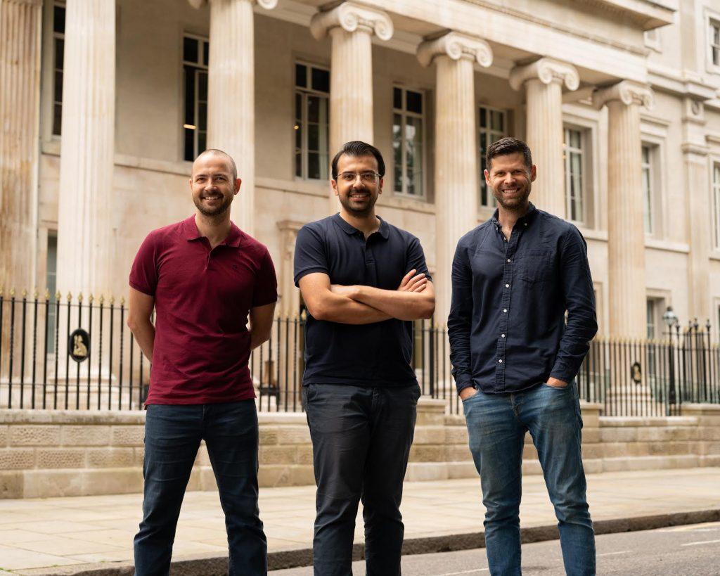 Founders: (L-R) Daniel Cronin, Koray Argun, Alistair Cotton.