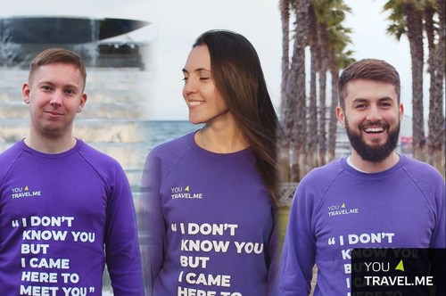 Olga Bortnikova, Ivan Bortnikov and Ivan Mikheev - co-founders of YouTravel.Me